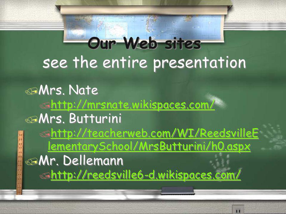 5th Grade Teachers / Mrs.Nate / Reading/Science/Language Arts / Mr.