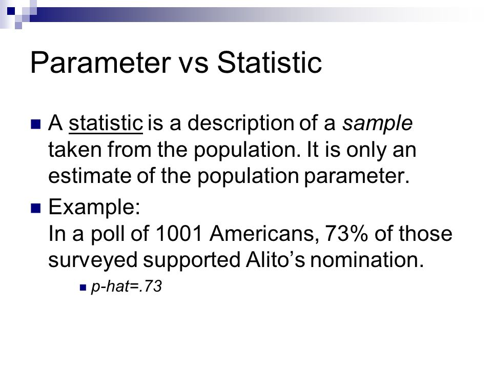 Sampling Distributions As Normal Distributions: Note Note: If any of the parameters are unknown, use the statistics from a sample to approximate it.