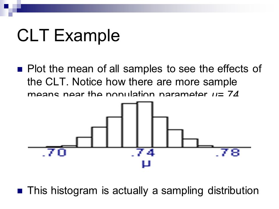 Sampling Distribution for Two Populations: Example (adapted from AP Statistics – Chapter 9 – Sampling Distribution Multiple Choice Questions Medium oranges have a mean weight of 14oz and a standard deviation of 2oz.