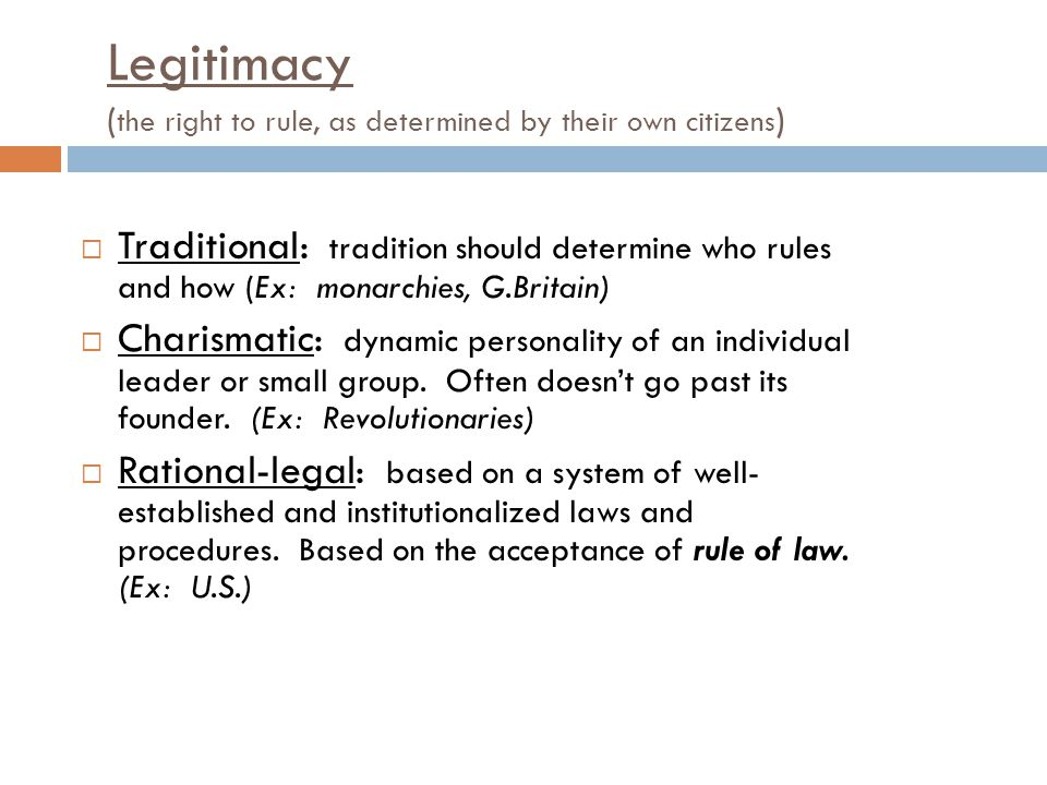 Theme 2: Political Institutions.