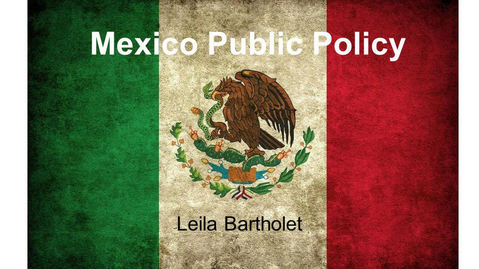 Mexico Public Policy Leila Bartholet