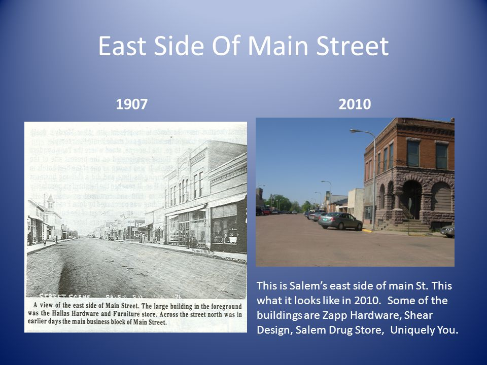 East Side Of Main Street 19072010 This is Salem's east side of main St.