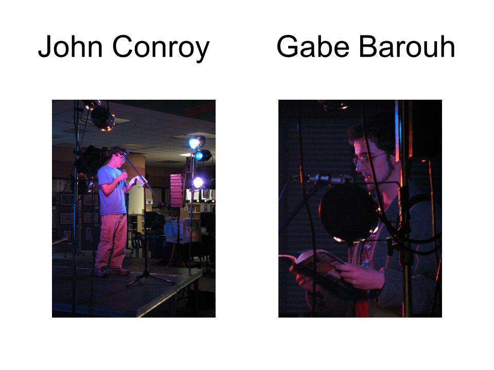 John Conroy Gabe Barouh