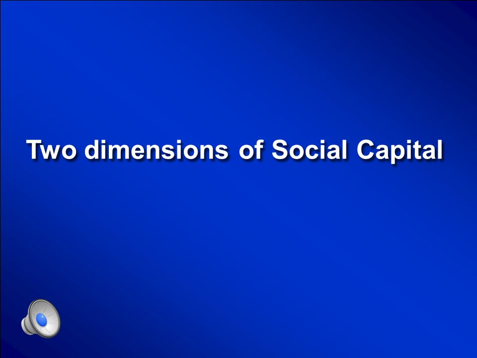 © Mark E. Damon - All Rights Reserved Social Capital Final Jeopardy Question Board