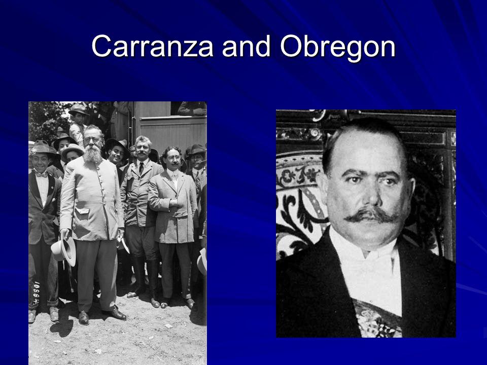 Carranza and Obregon