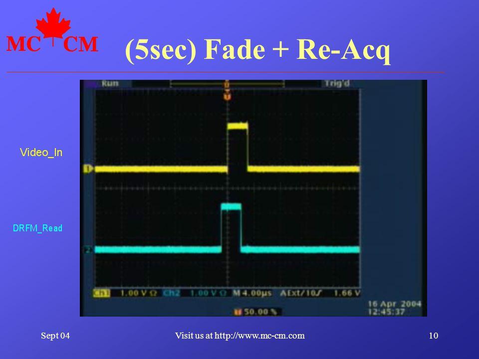 Sept 0410Visit us at http://www.mc-cm.com (5sec) Fade + Re-Acq