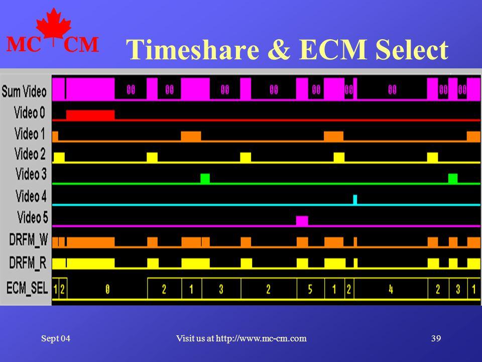 Sept 0439Visit us at http://www.mc-cm.com Timeshare & ECM Select