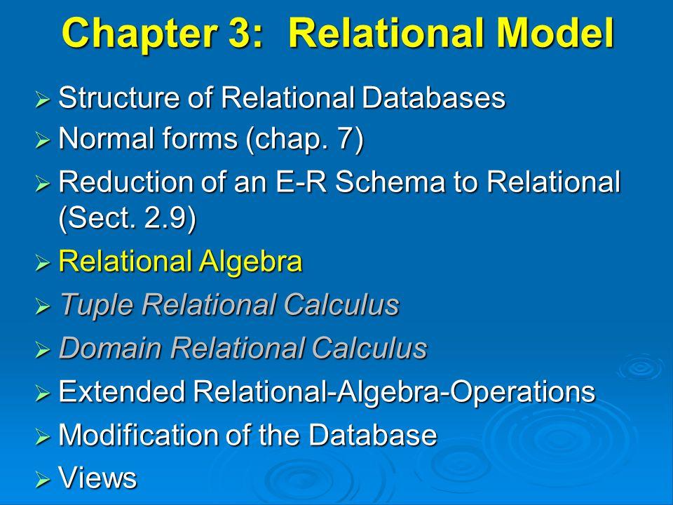 Aggregate Operation – Example Relation r: AB   C 7 3 10 g sum(c) (r) sum-C 27