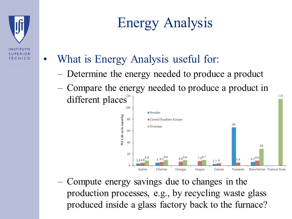 Energy Analysis Difficulties associated with the Energy Analysis framework: