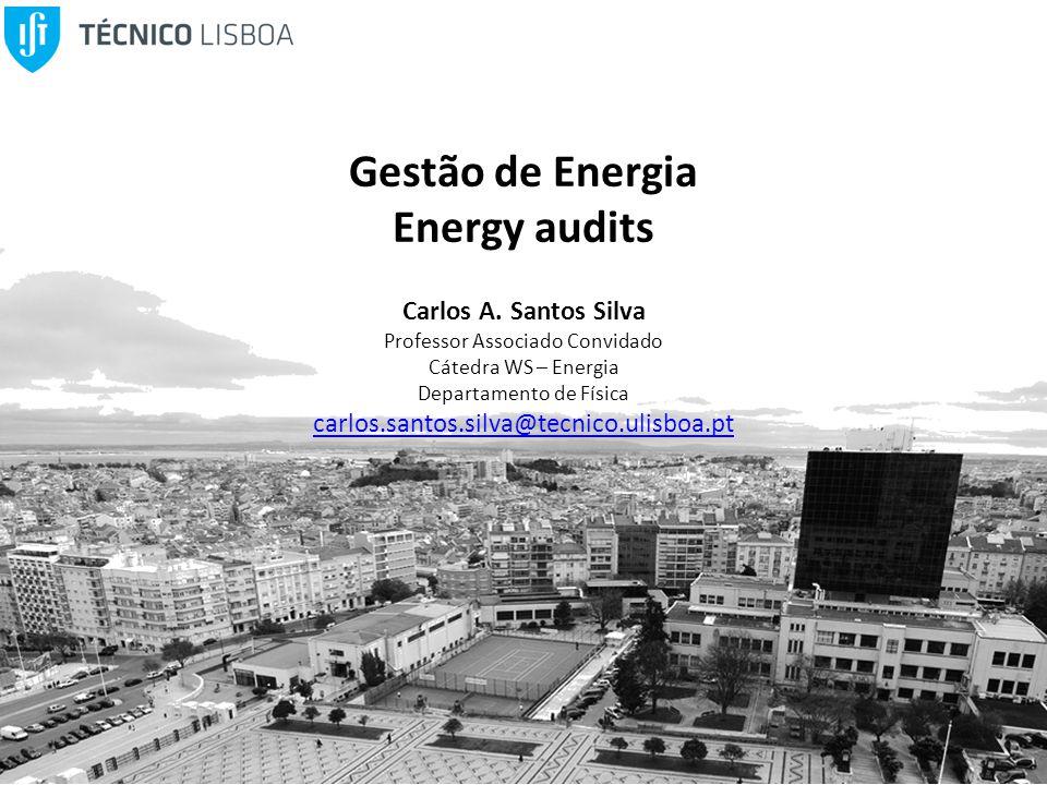 Gestão de Energia Energy audits Carlos A.