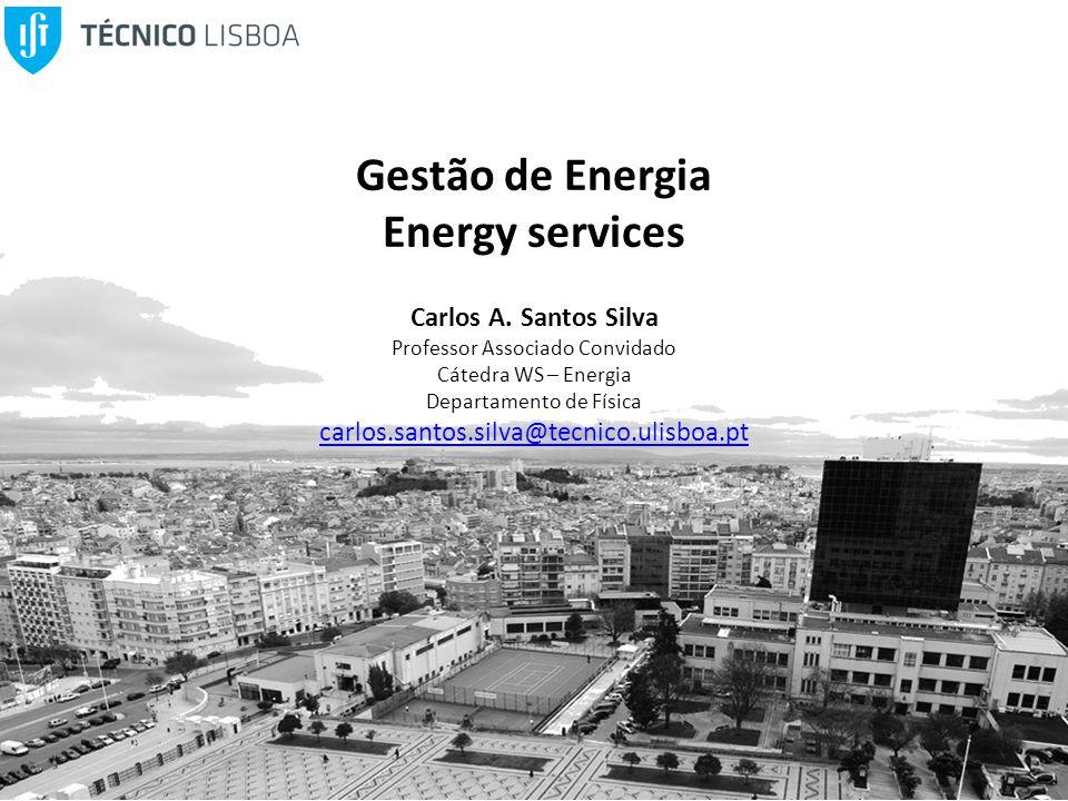 Gestão de Energia Energy services Carlos A.