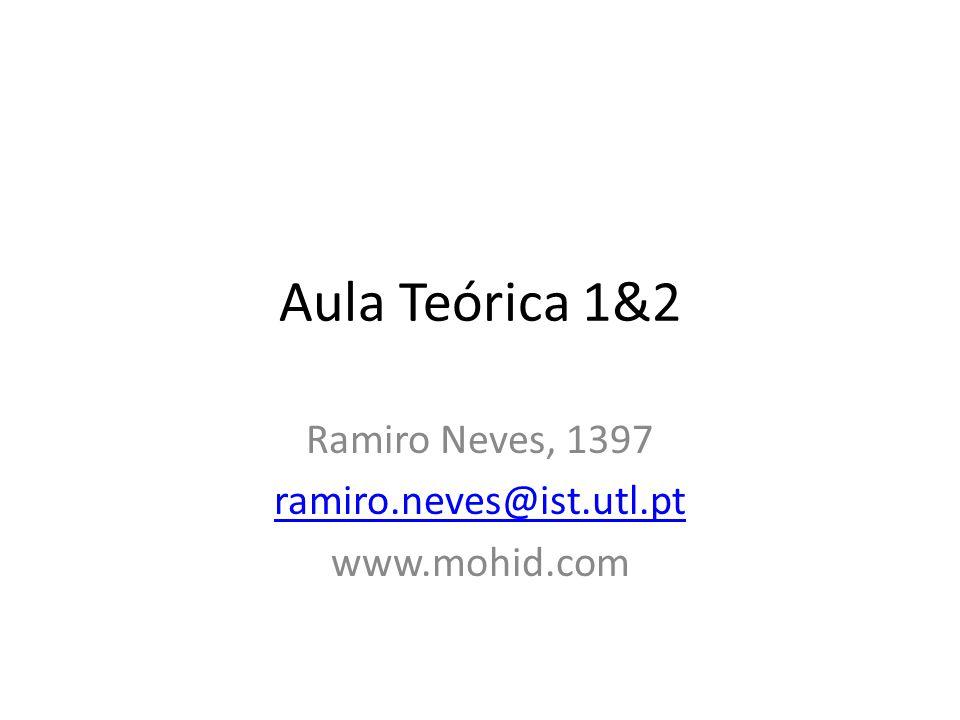 Aula Teórica 1&2 Ramiro Neves, 1397 ramiro.neves@ist.utl.pt www.mohid.com
