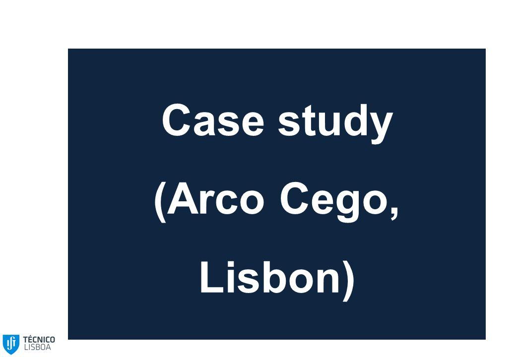 Case study (Arco Cego, Lisbon)