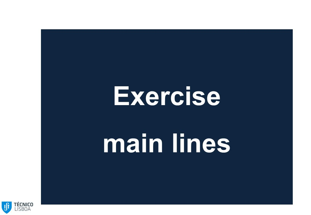 Exercise main lines