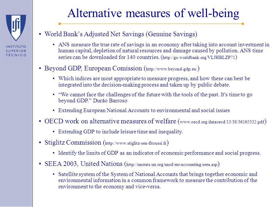 World Bank's Genuine Savings