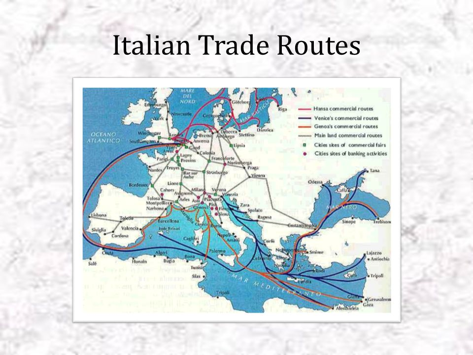 Italian city-states Each city-state was controlled be a powerful family Each city state was dominated by a wealthy and powerful merchant class Wealthy merchants were political and economic leaders Wealthy merchants emphasized the importance of art and personal achievement