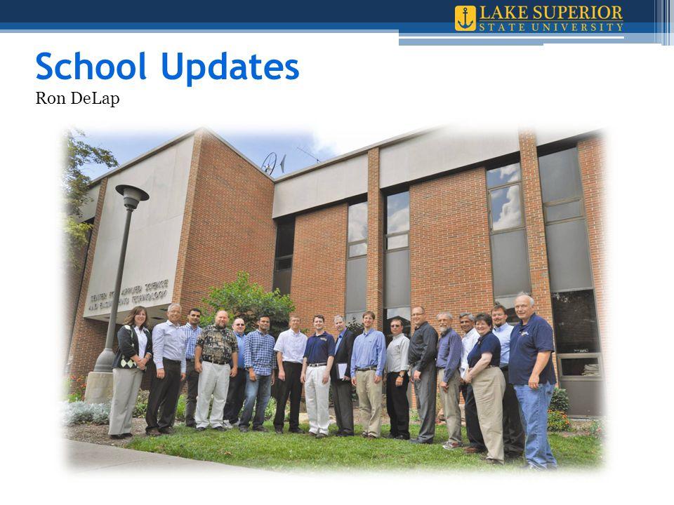 School Updates Ron DeLap