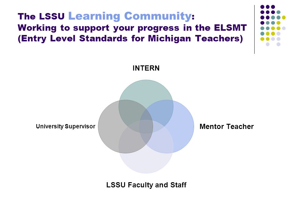 Conceptual Framework of the LSSU School of Education Remember this? You know this!