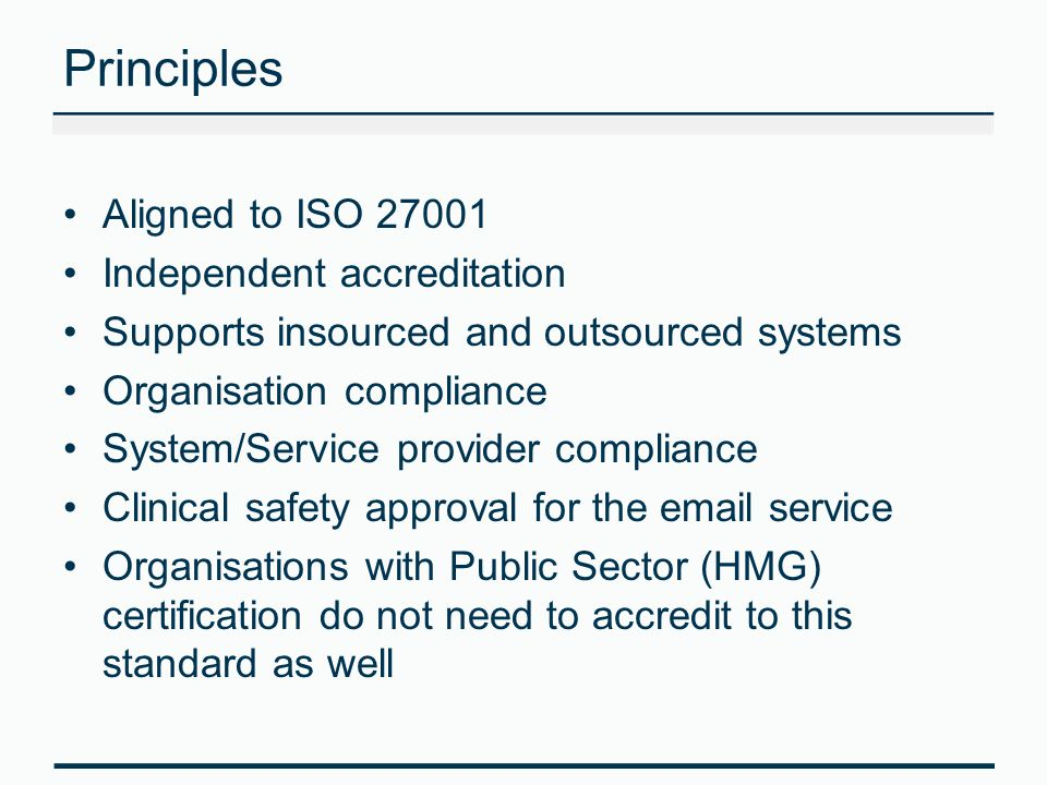 Health & Care Conformance Evidence of a security risk assessment for the email service i.e.