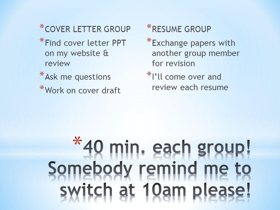 do now take out resume worksheet resume draft original resume