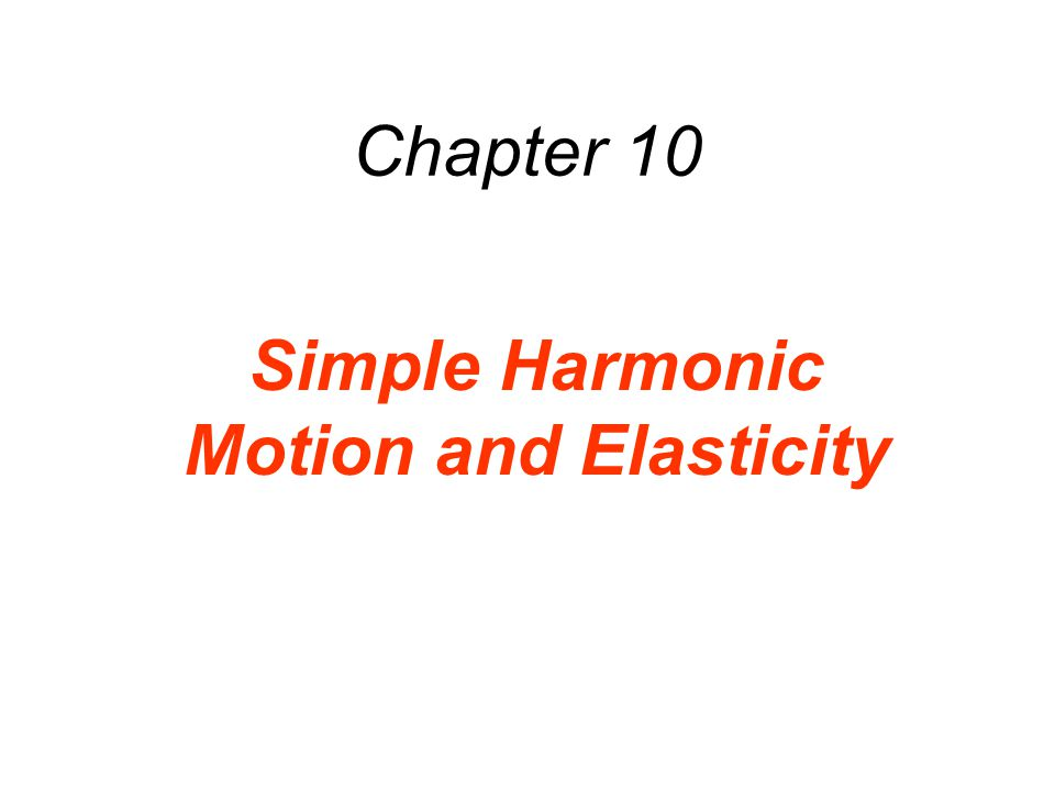 10.2 Simple Harmonic Motion and the Reference Circle (a) (b)The maximum speed occurs midway between the ends of its motion.
