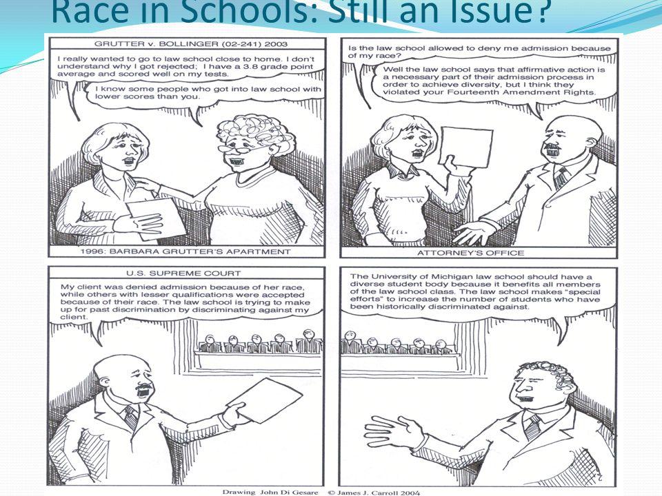Race in Schools: Still an Issue