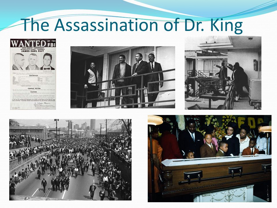 The Assassination of Dr. King