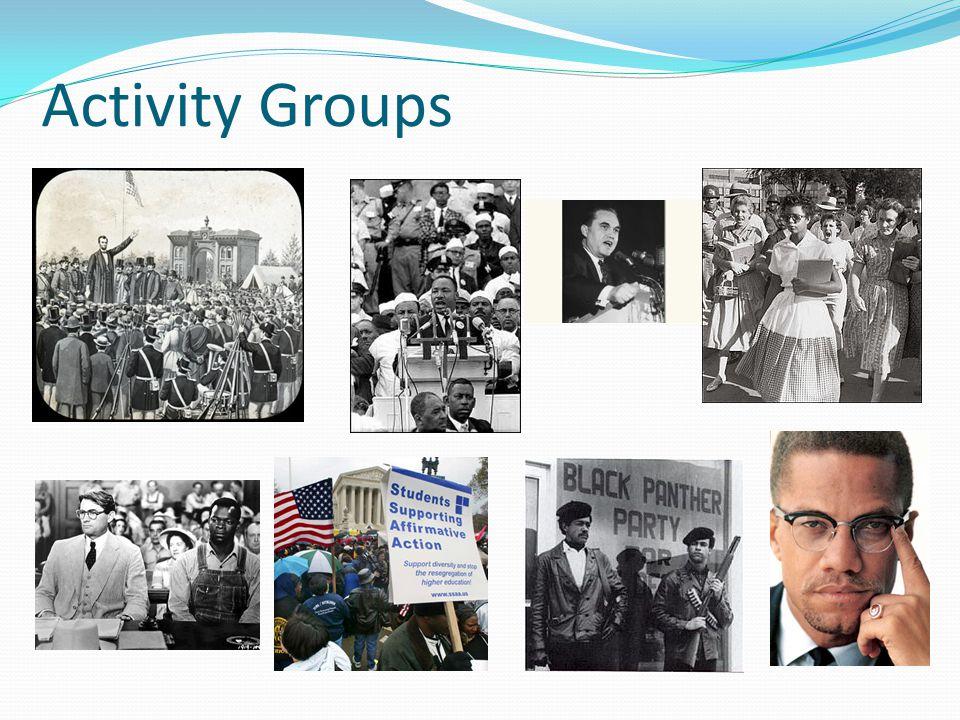 Activity Groups