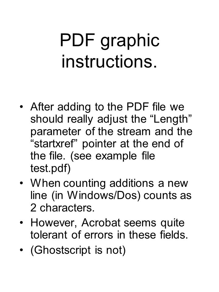 PDF graphic instructions.