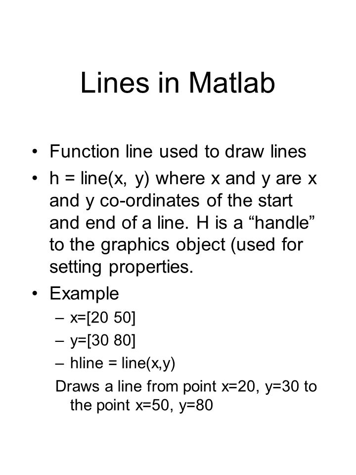Rectangles in Matlab Function rectangle used to draw rectangles in Matlab.