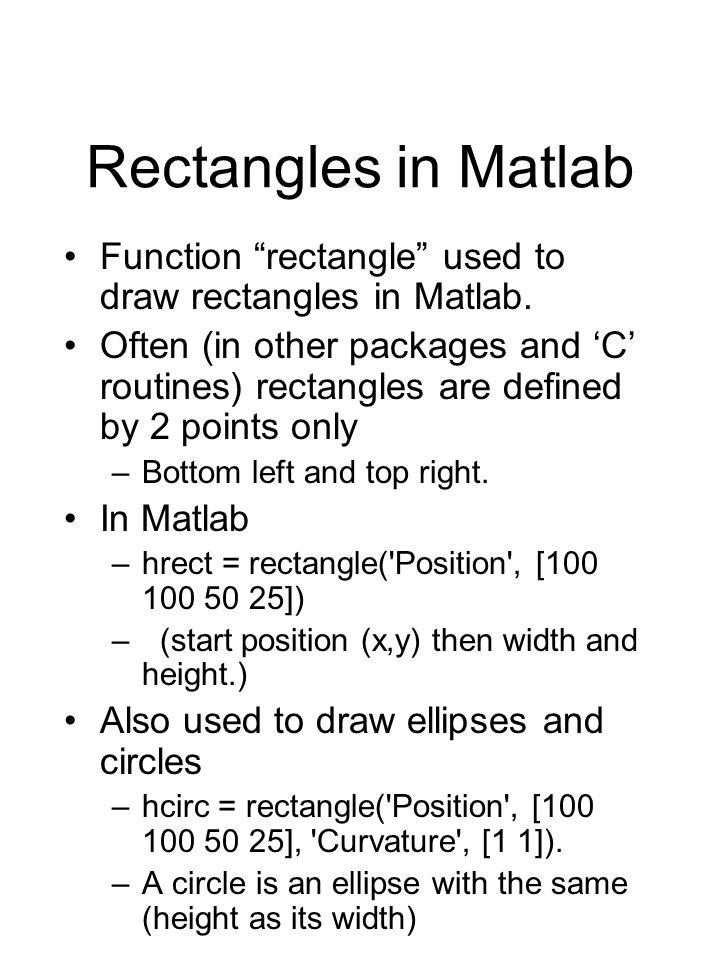 Exercises Linear degree 1 e.g.y = 2x + 5. x = [-10 :10]; plot(x, 2*x + 5) Quadratic degree 2 e.g.