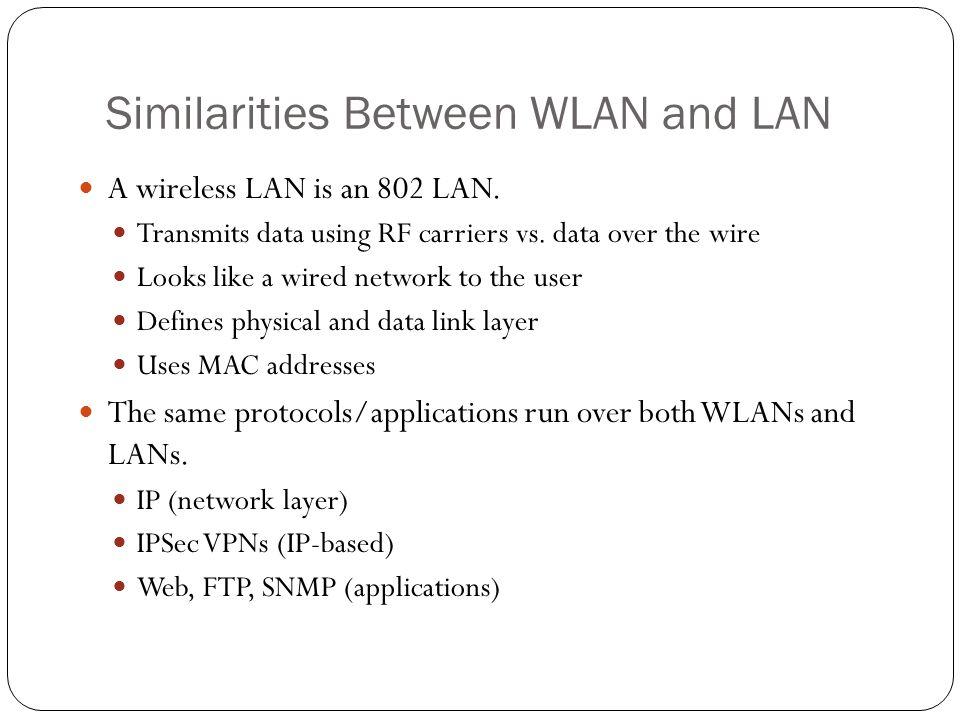 Cisco WLAN Implementation Distributed WLAN solution Autonomous AP Wireless LAN Solution Engine (WLSE) Centralized WLAN solution Lightweight AP Wireless LAN Controller (WLC) Cisco offers 2 flavors of wireless solutions: