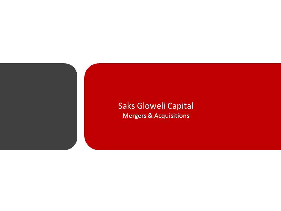 Saks Gloweli Capital Mergers & Acquisitions