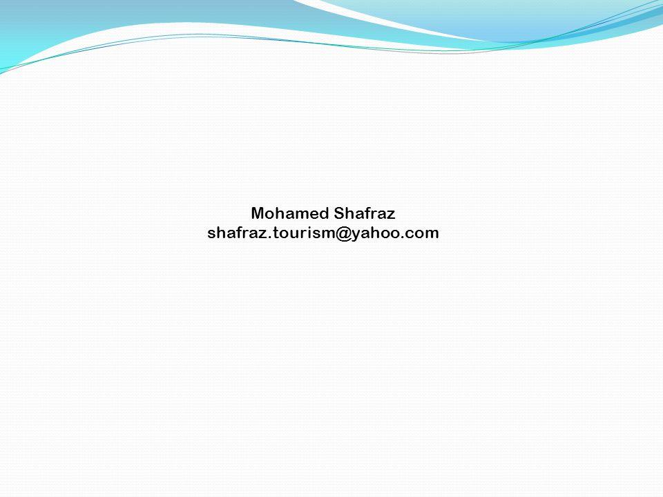 Mohamed Shafraz shafraz.tourism@yahoo.com