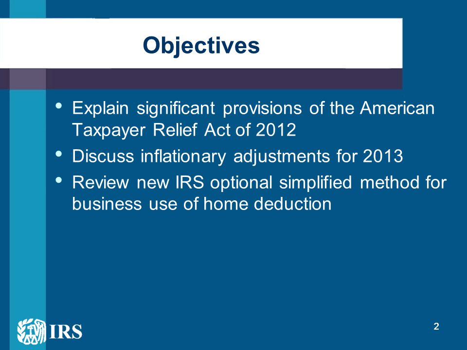 23 2011 Expiring Provisions Extended Through End of 2013 Tax free distributions from Individual Retirement Accounts plans for charitable purposes (Sec.