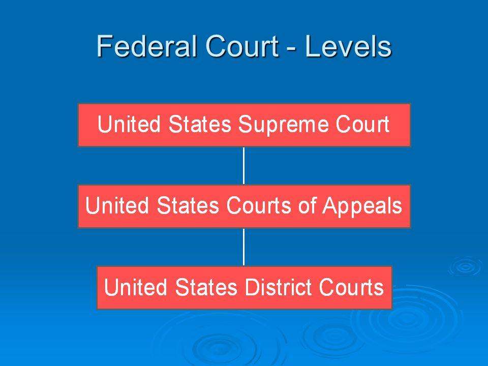 U.S. District Courts  Sample name: United States District Court for the Middle District of Florida.  Parties: Plaintiff (initiates action). Plaintif