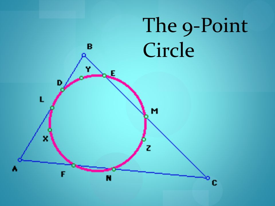 The 9-Point Circle