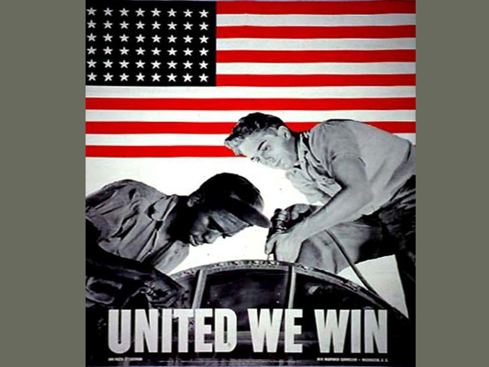 Minority groups during the war African Americans Major push to fight discrimination NAACP membership grew Campaigned for anti-lynching laws and against poll taxes Congress of Racial Equality (CORE) founded in 1942 Were discriminated against in war industries A.