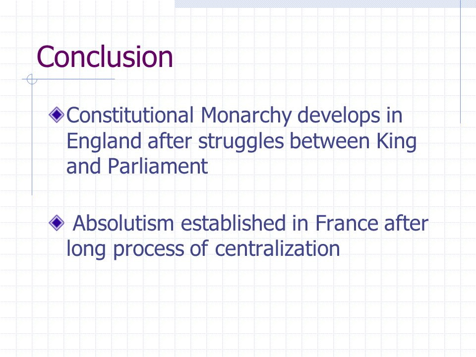The Rise of Absolute Monarchy in France The War of the Spanish Succession The King of Spain dies in 1700 Louis XIV's grandson to inherit Spain and its