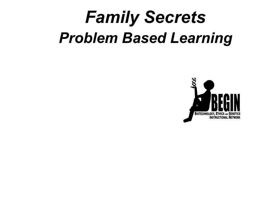Family Secrets Problem Based Learning