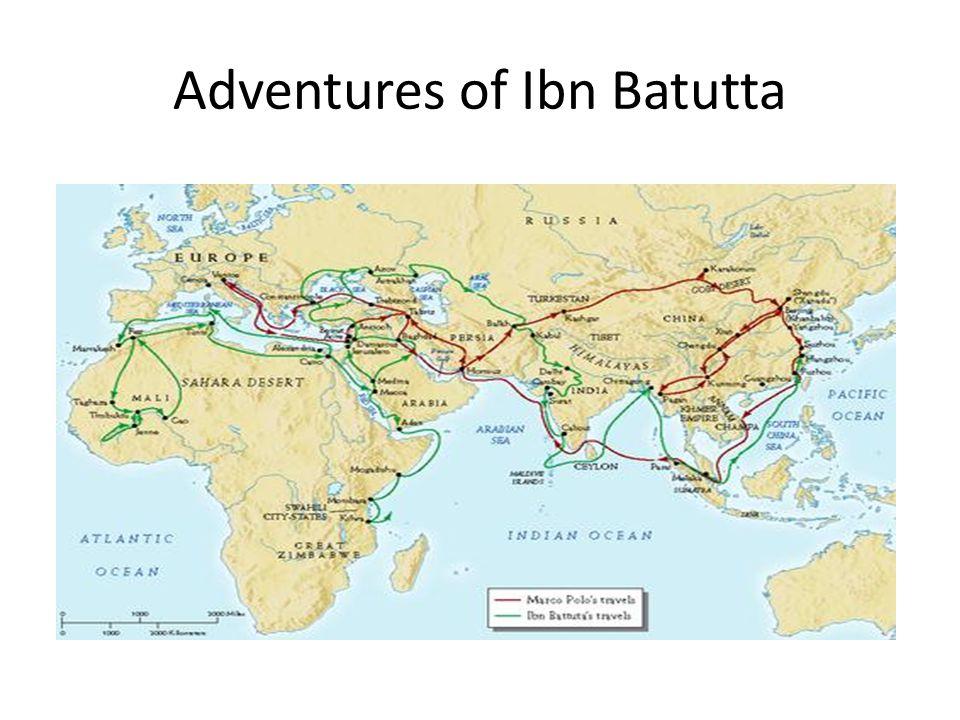 Adventures of Ibn Batutta