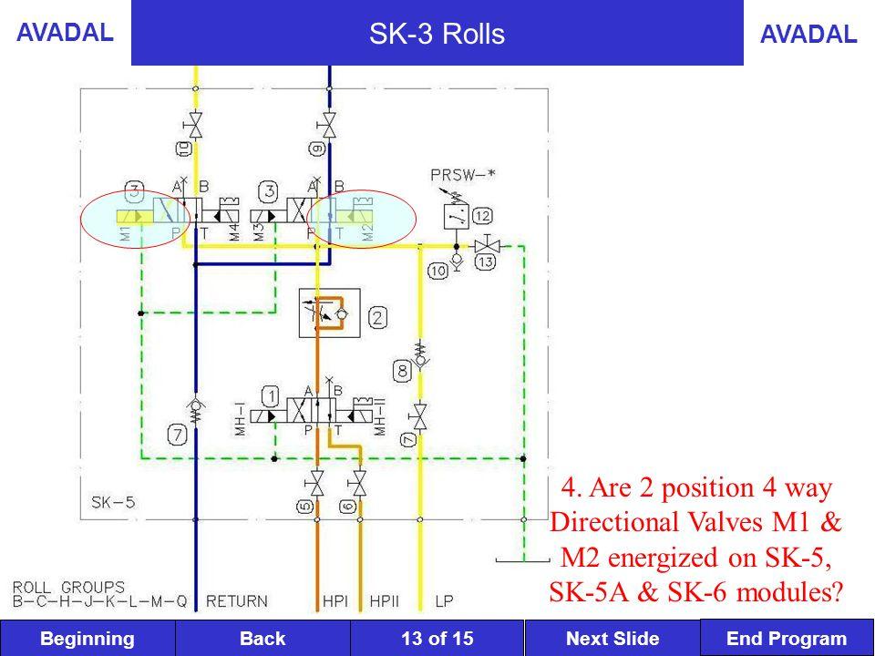 BeginningNext SlideBack End Program AVADAL 13 of 15 SK-3 Rolls 4.