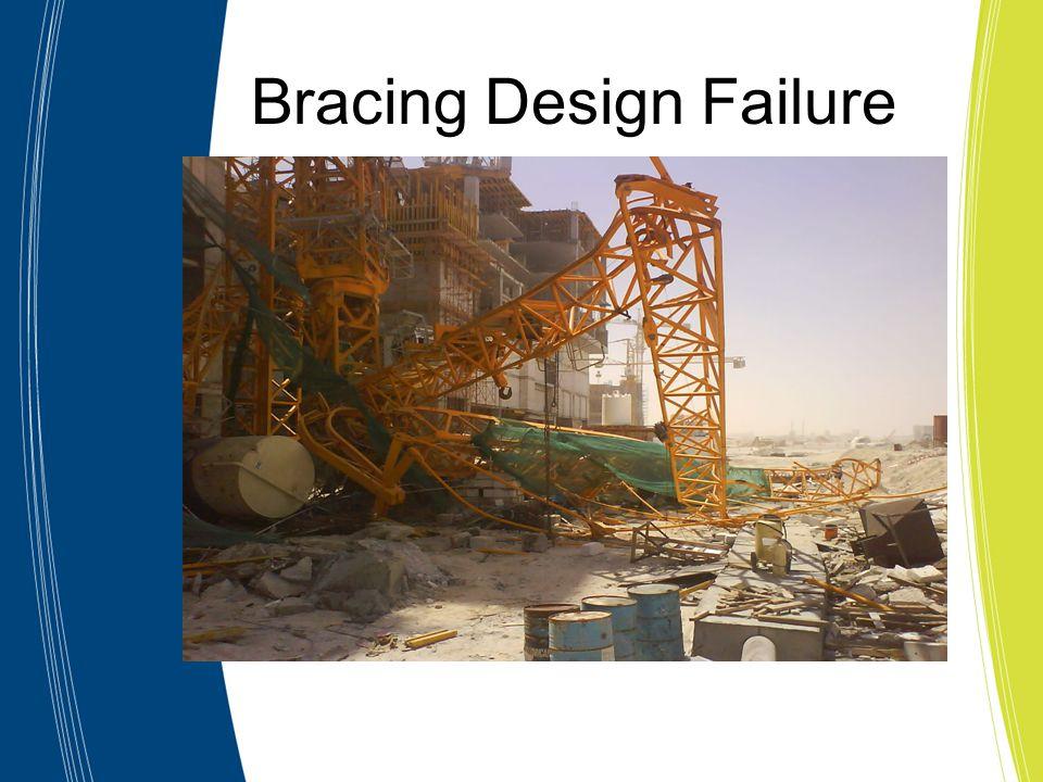 Bracing Design Failure