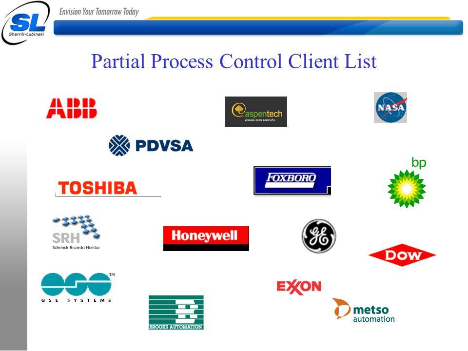 Partial Process Control Client List