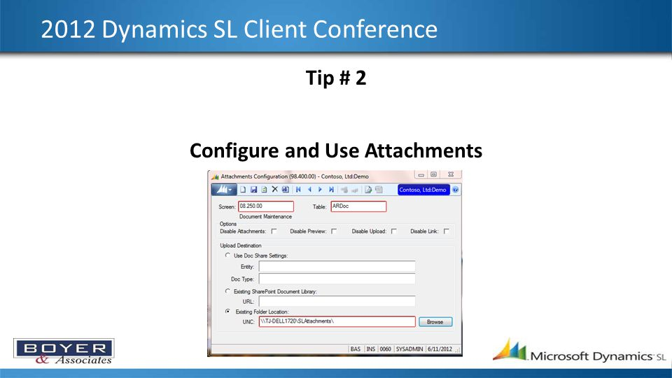 2012 Dynamics SL Client Conference Tip # 6 Correcting a G/L Journal Entry
