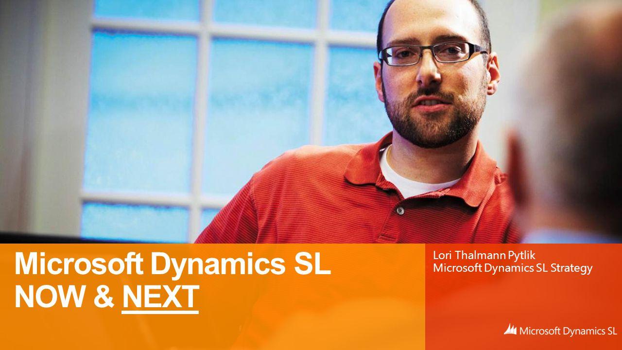 Lori Thalmann Pytlik Microsoft Dynamics SL Strategy