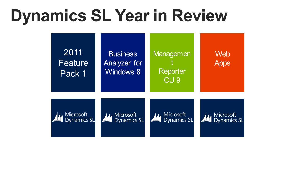 Dynamics SL Agenda Microsoft Dynamics SL 2015 Beta - May 2014 Fall Events -Dynamics SL 2015 Roadshow -Dynamics SL User Group Meeting - Boston, MA - Sept.