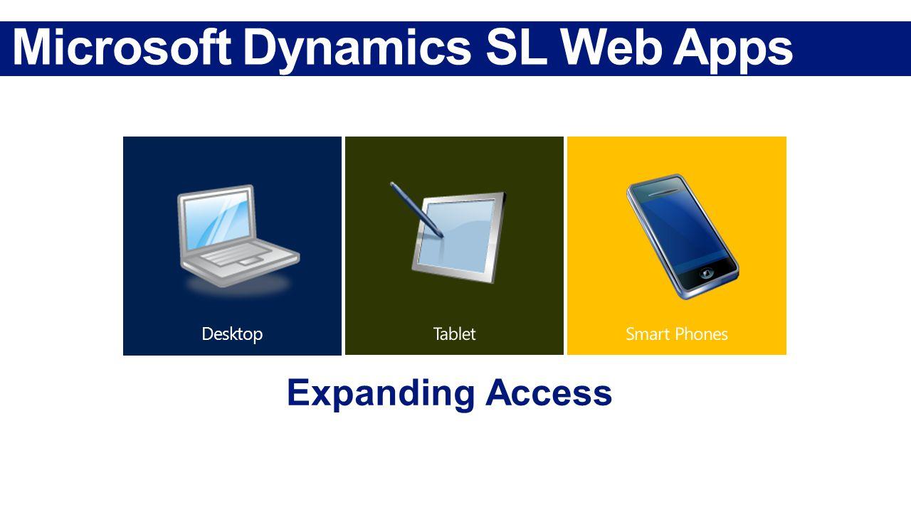 Microsoft Dynamics SL Web Apps