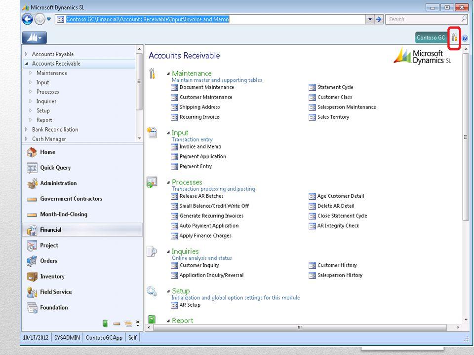 Questions ? SSi Microsoft Dynamics SL Tips & Tricks