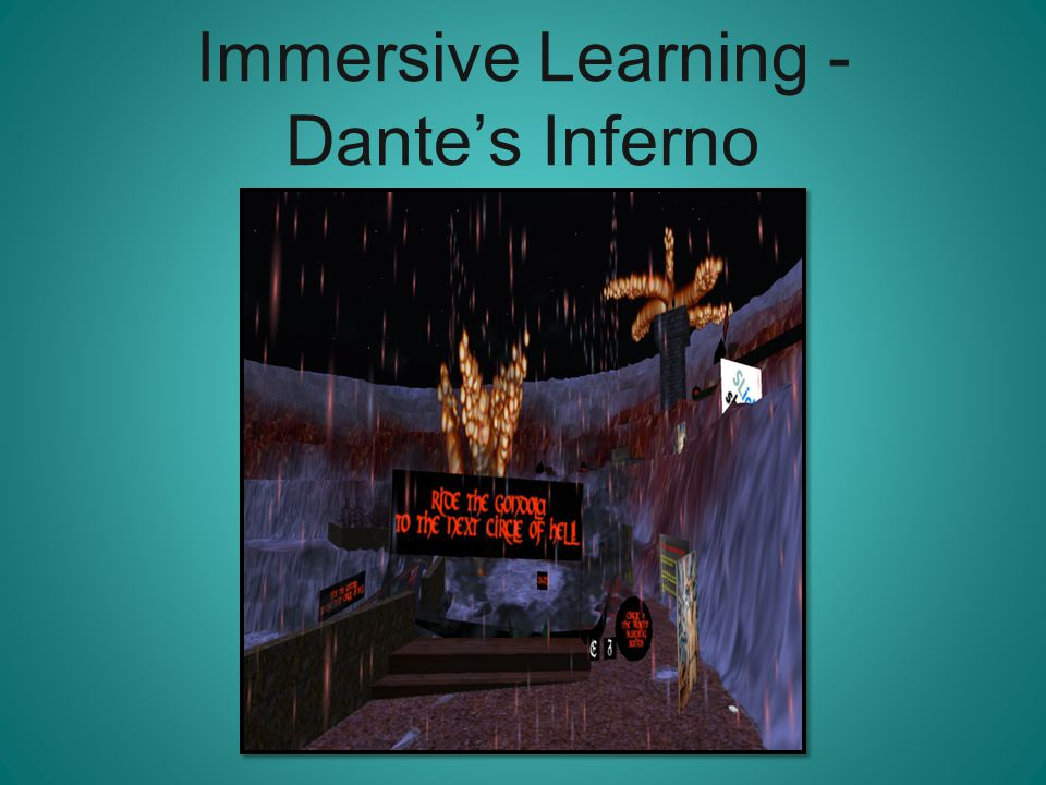 Immersive Learning - Dante's Inferno